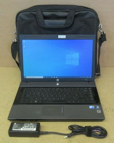 "HP 620 15.6"" Core 2 Duo T6670 2.2Ghz 4GB 320GB HDD Win10 Pro Laptop + Targus Bag"